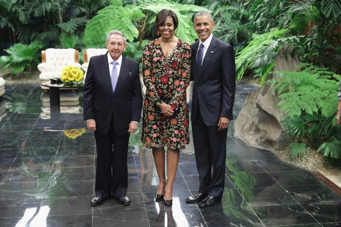 Барак Обама, Раул Кастро
