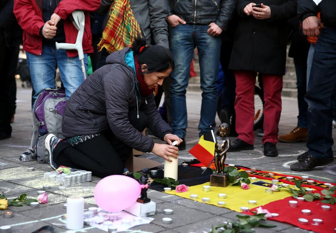 Брюксел, траур, тероризъм