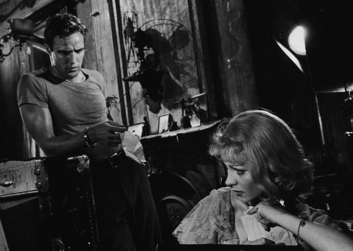 Марлон Брандо Трамвай Желание Brando And Leigh In 'A Streetcar Named Desire'