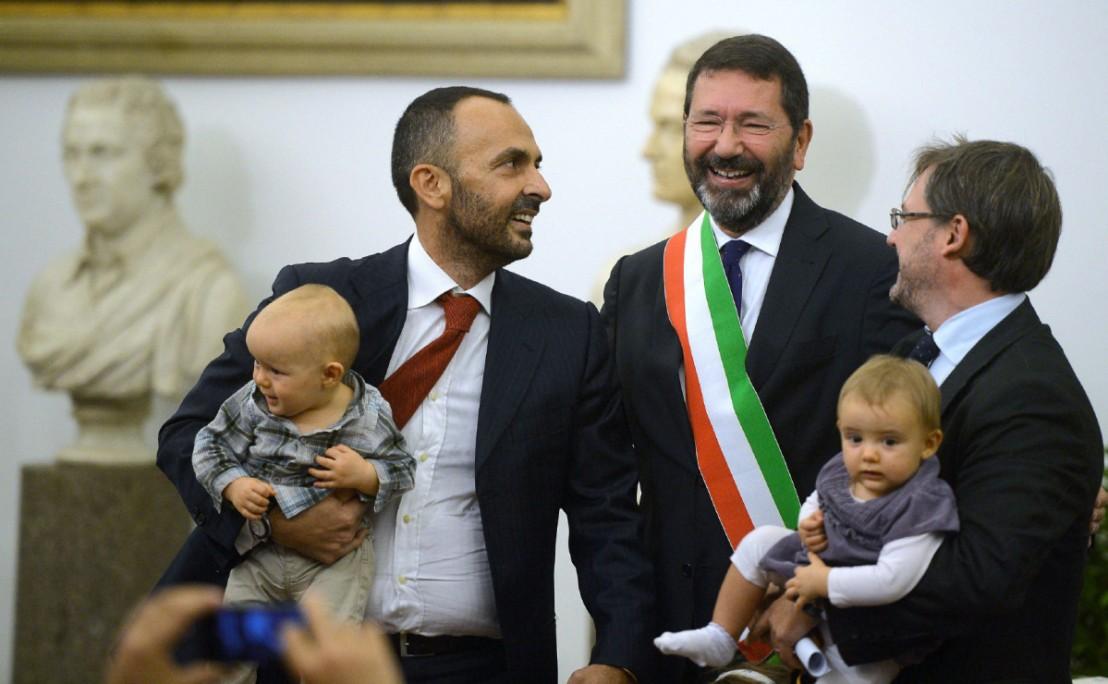 ITALY-GAY-WEDDING