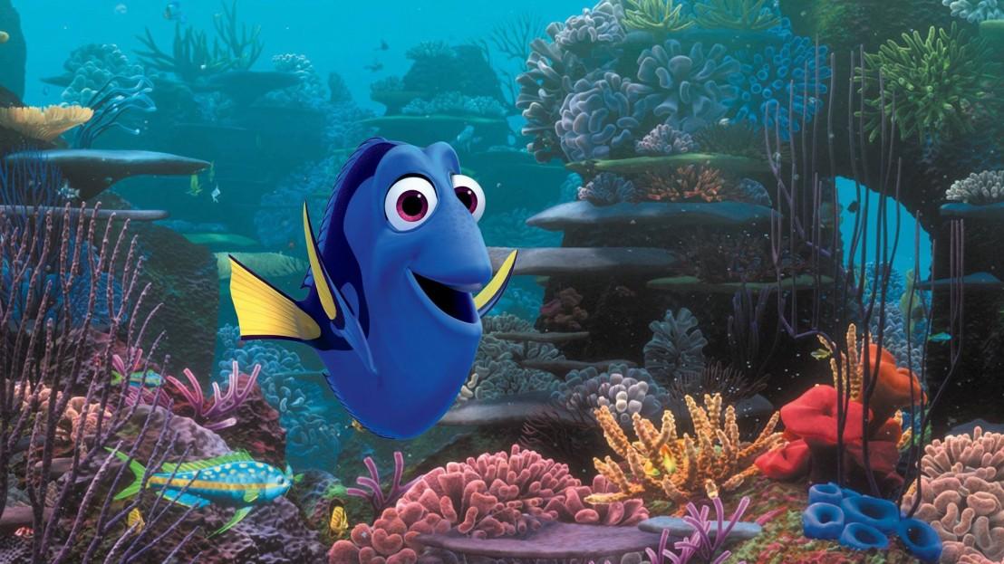 Дори, риба, анимация