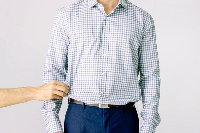 мъж, риза