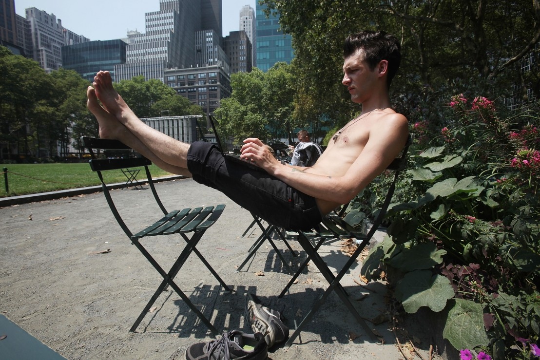 Record Heat Wave Grips Northeast