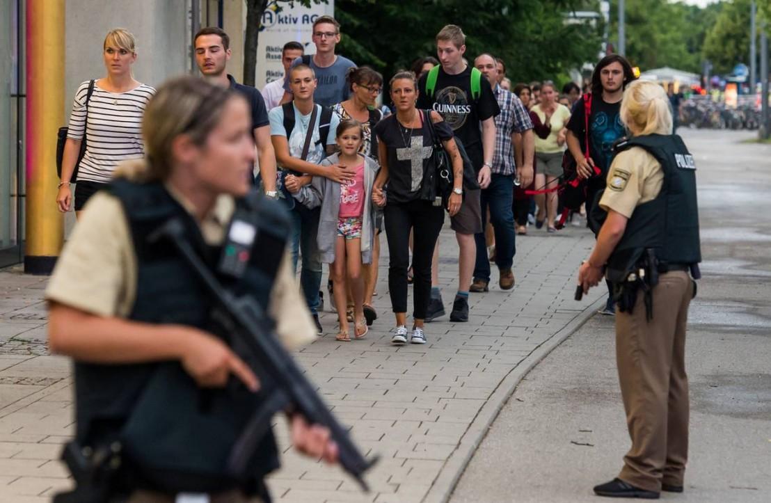 мюнхен, мол, терор, атентат, полиция