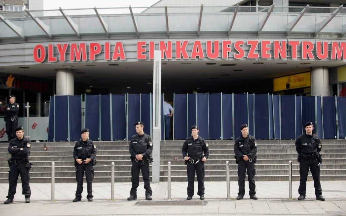 мюнхен, германия, полиция в германия