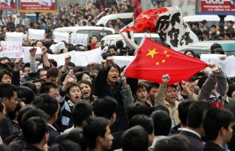 China Protesters Demand Boycott Over Japan Refusal To Admit WWII Atrocities