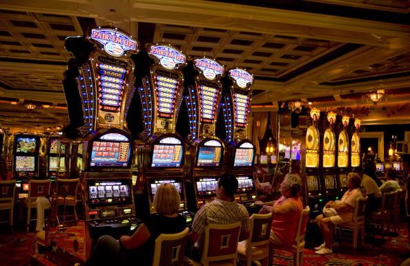 лас вегас, казино, ротативки