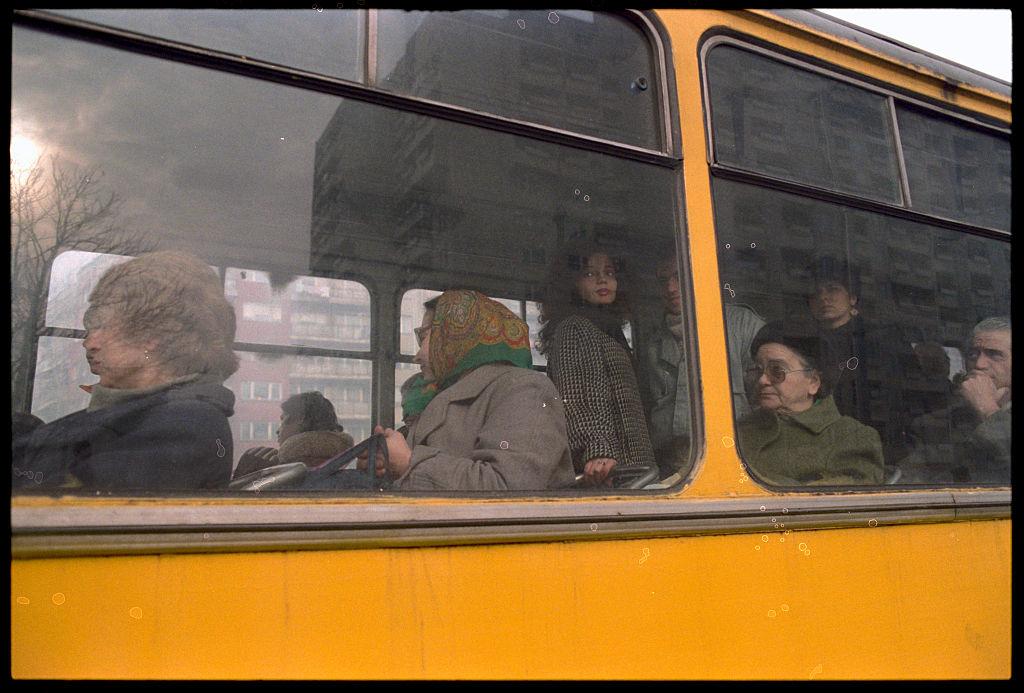 автобус, градски транспорт