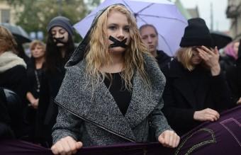полша протест аборти