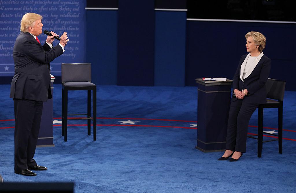 хилари клинтън доналд тръмп дебат