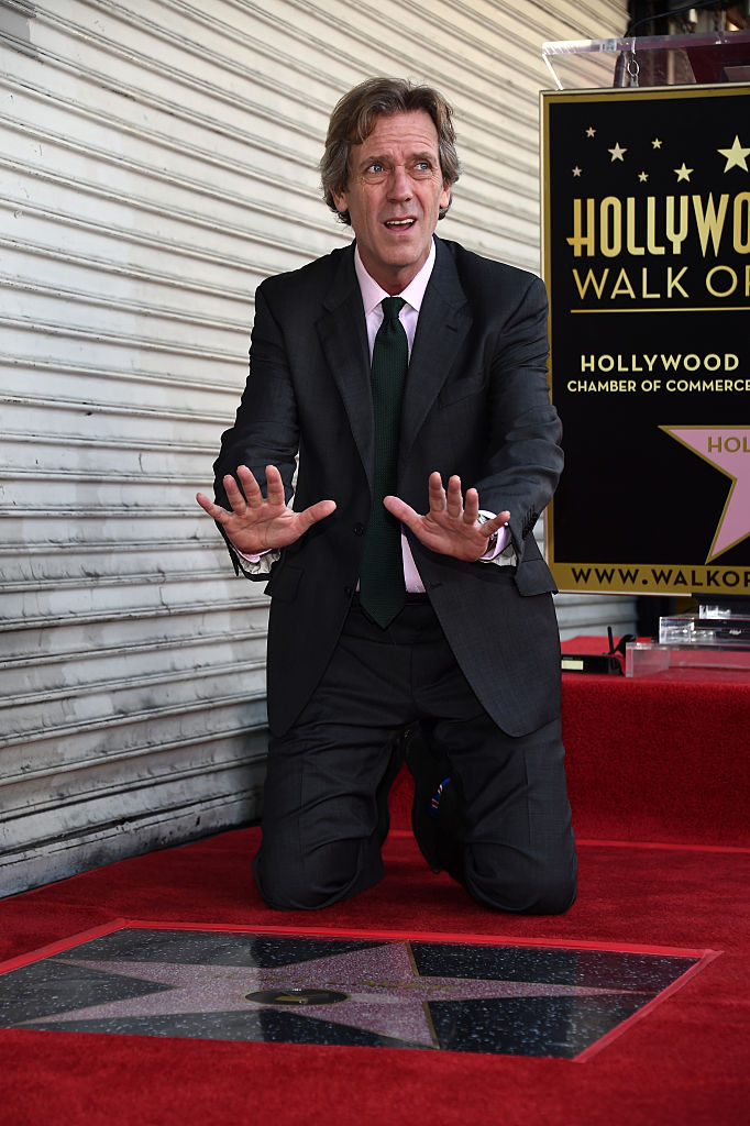 Hugh Laurie Honored With Star On The Hollywood Walk Of Fame