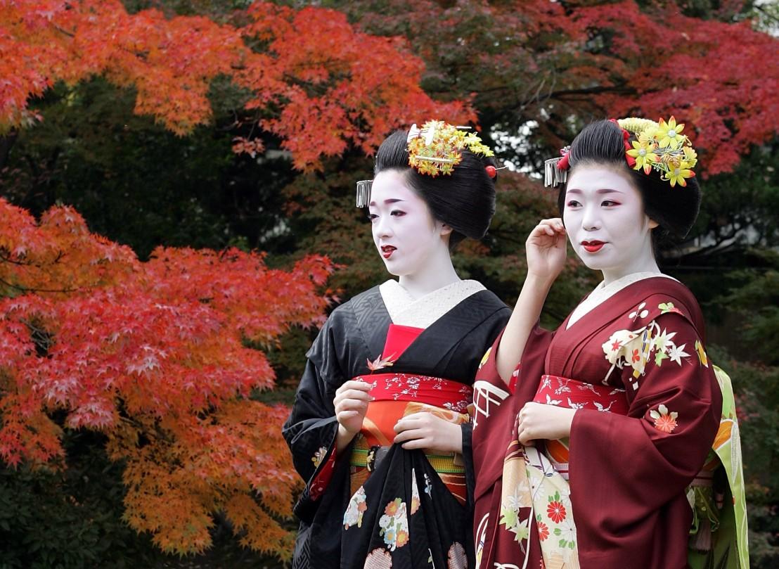 гейши, япония