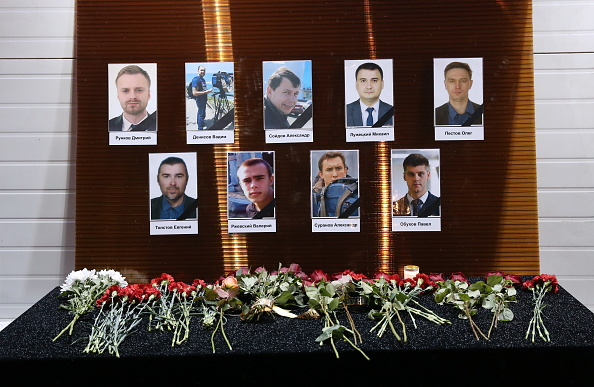 Moscow residents pay tribute to Tupolev Tu-154 plane crash victims