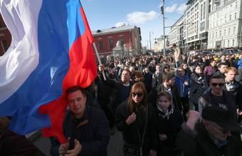 русия, антикорупционен протест