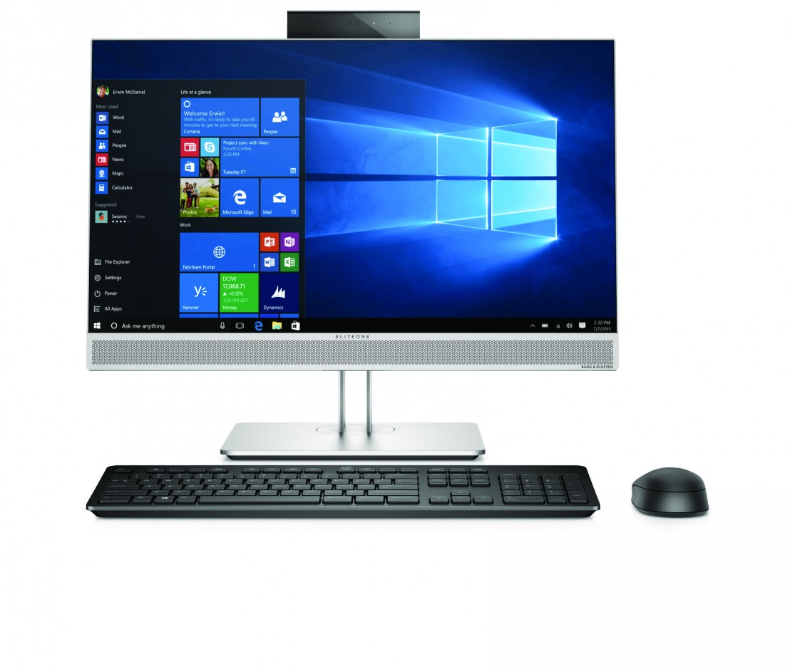 HP EliteOne 800 G3 AiO 23 Front Facing