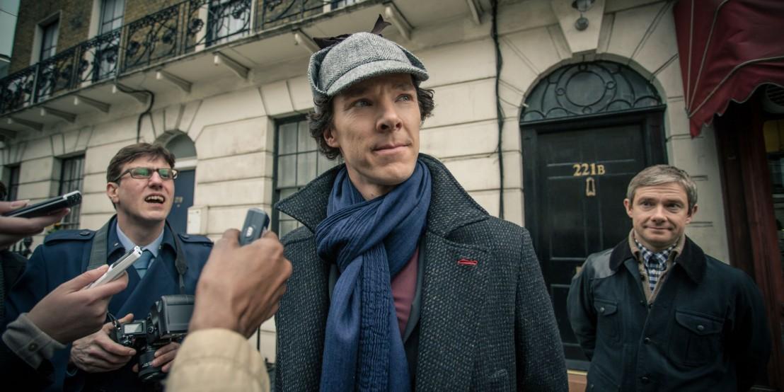 Sherlock Series 3 шерлок