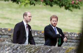 сватбата на пипа мидълтън, принц хари, принц уилям
