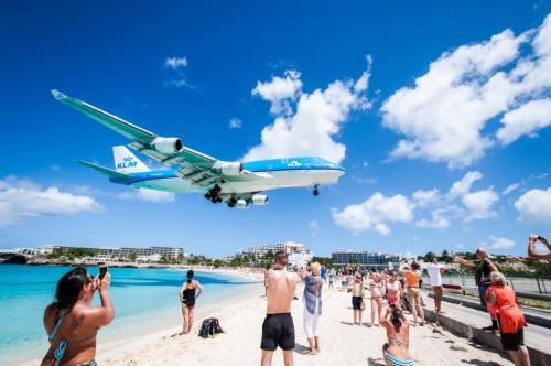 плаж, самолет