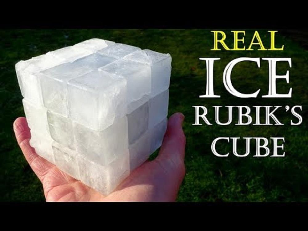 Кубче на рубик от лед