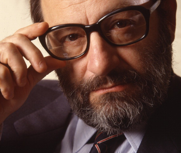 Portrait Of Umberto Eco