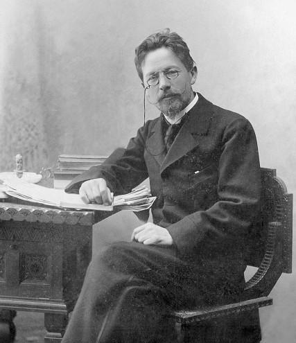 Tschechow, Anton - Writer, Russia*1860-1904+- Portrait- 1901