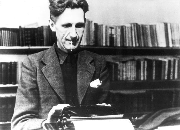 George Orwell - an seiner Schreibmaschine