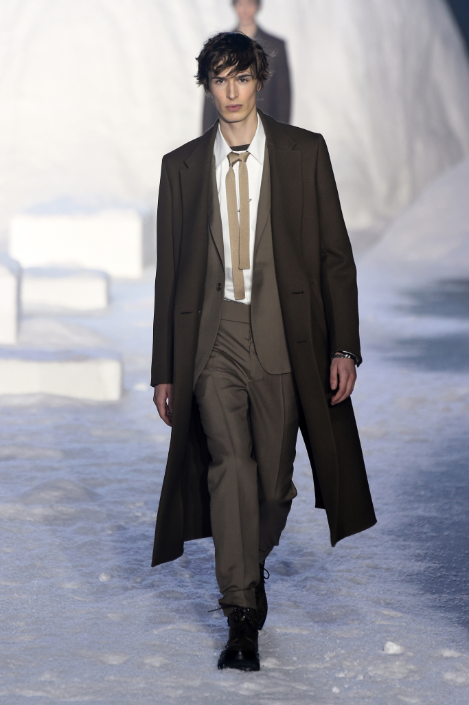 Ermenegildo Zegna Men's Fall 2018