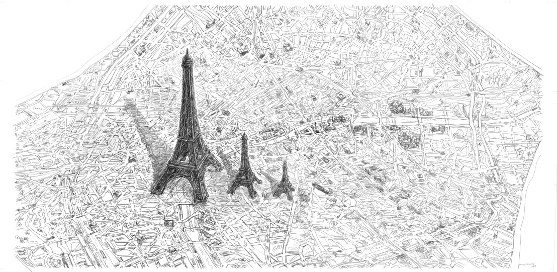 011 LB_Paris 3 Eifel_2004 2018_great drawing