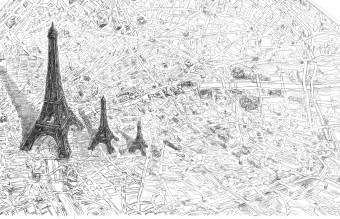 011 LB_Paris 3 Eifel_2004 2018_great drawing