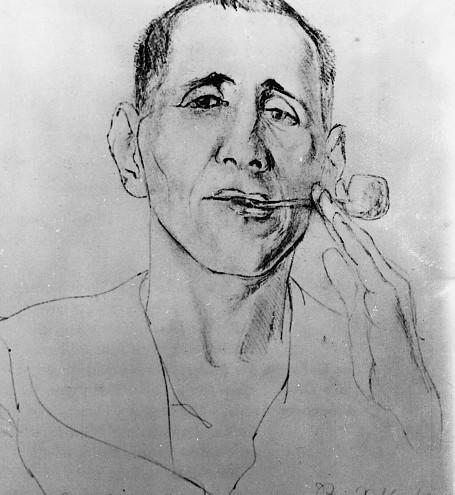 Schlichter, Portrait of Bertolt Brecht