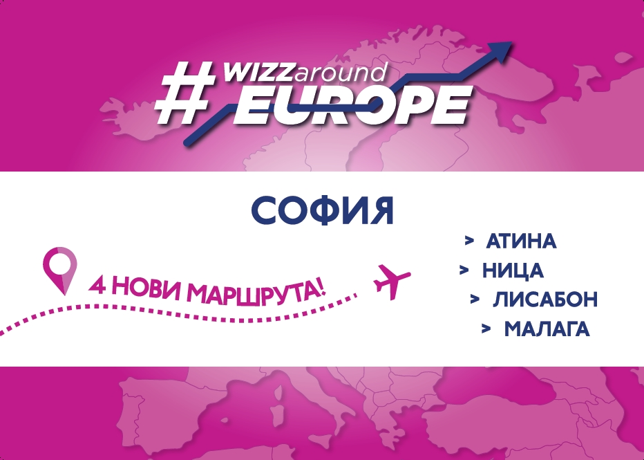WIZZ_New Sofia Routes