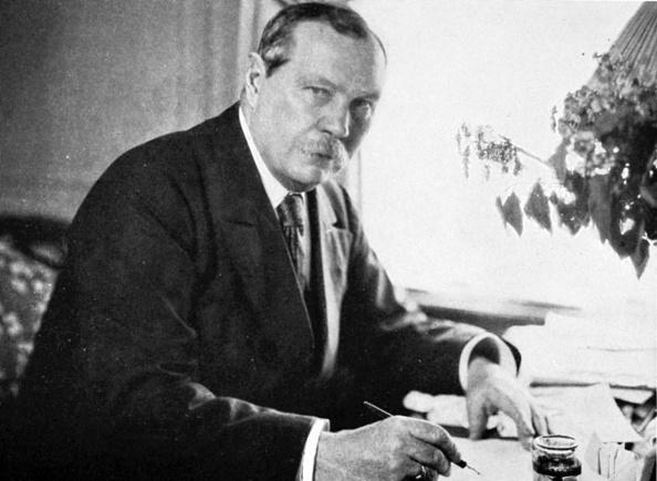 Arthur Conan Doyle, creator of the famous fictional detective Sherlock Holmes