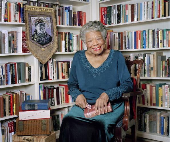 Maya Angelou, Oprah at Home, April 1, 2008
