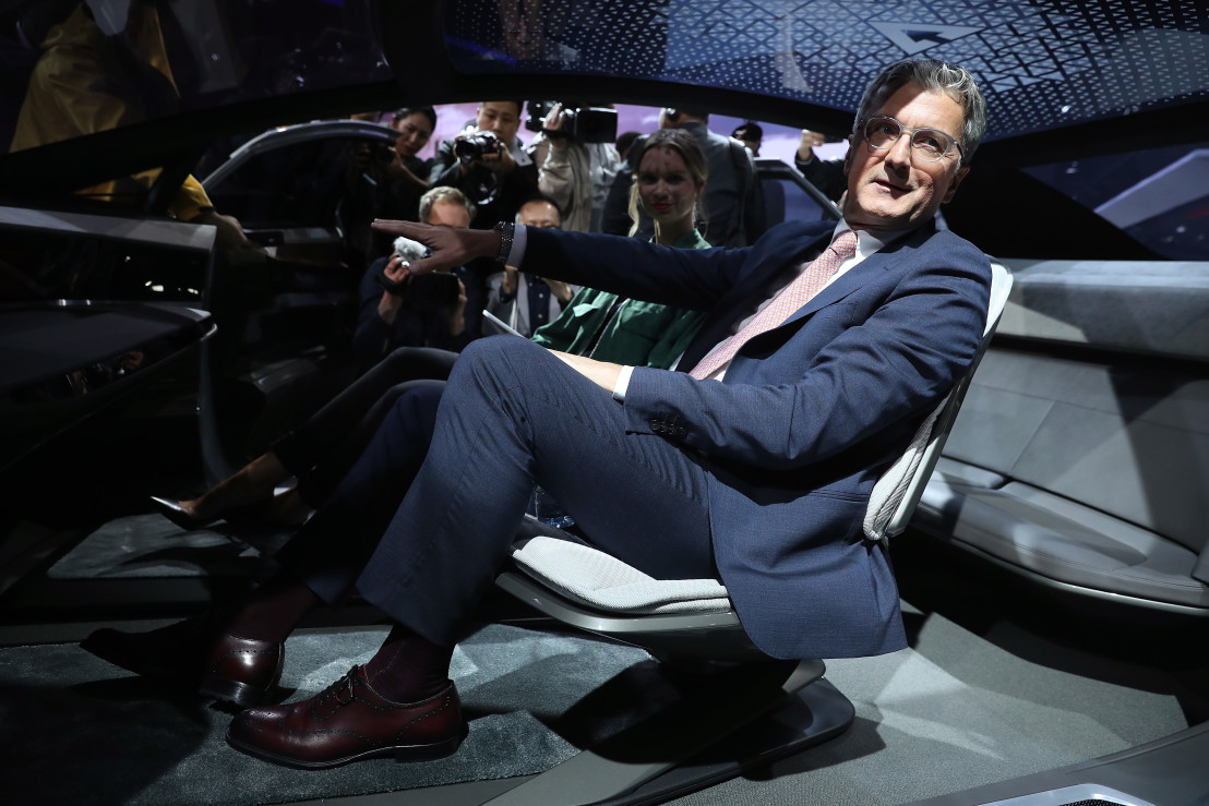 Volkswagen Preview Night At Frankfurt Auto Show