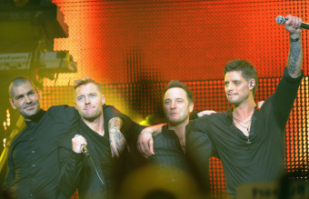 Boyzone Join Ronan Keating on Stage At The Royal Albert Hall