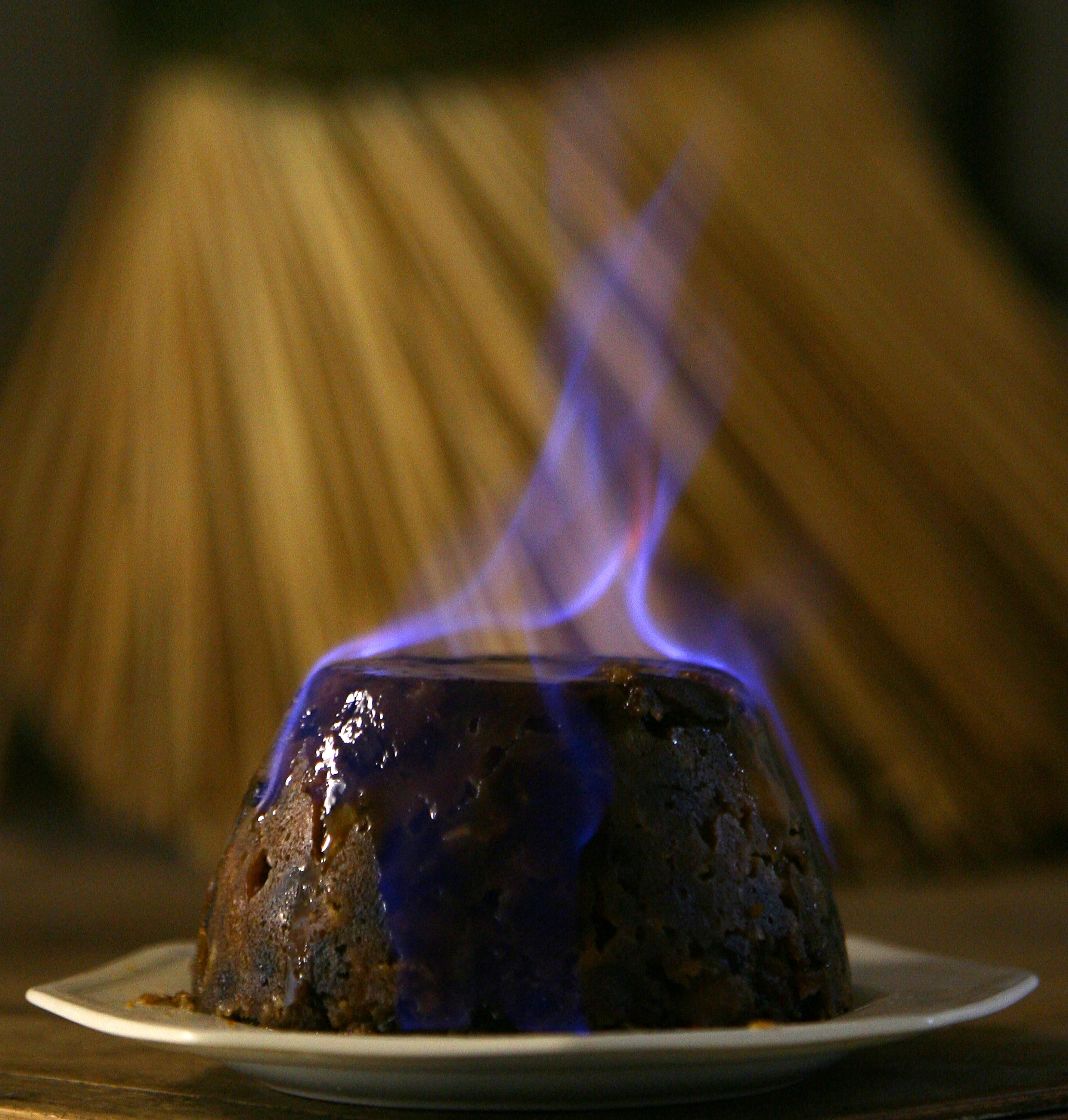 Christmas Pudding Maker Prepares For Christmas