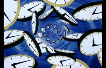 Ian Emes, DARK SIDE OF THE MOON, Clock Vortex, 1974, animacja do utworu Time (Pink Floyd)