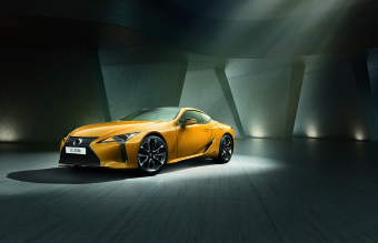 Lexus LC Yellow Edition Coupe