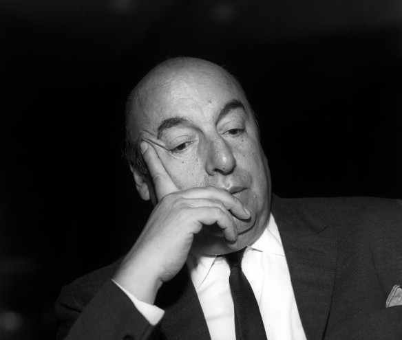 Close-Up Of Pablo Neruda
