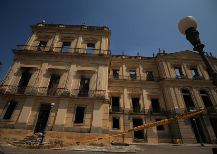 Fire Destroys Iconic National Museum of Brazil