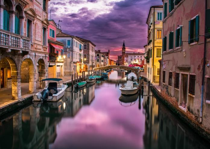 Венеция, пътуване