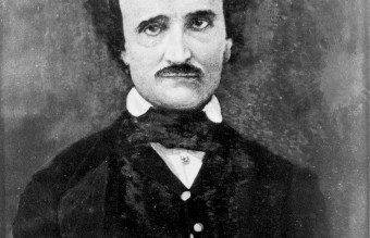 Edgar Allan Poe; portrait by Gabriel Harrison, 1896