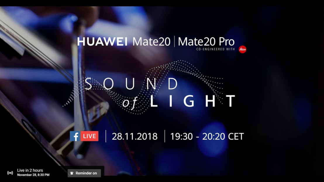 Huawei Sound of light