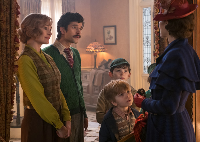 мери попинз се завръща, mary poppins returns
