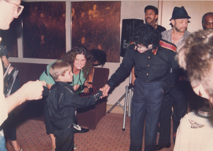 WADE ROBSON MEETS MJ FIRST TIME