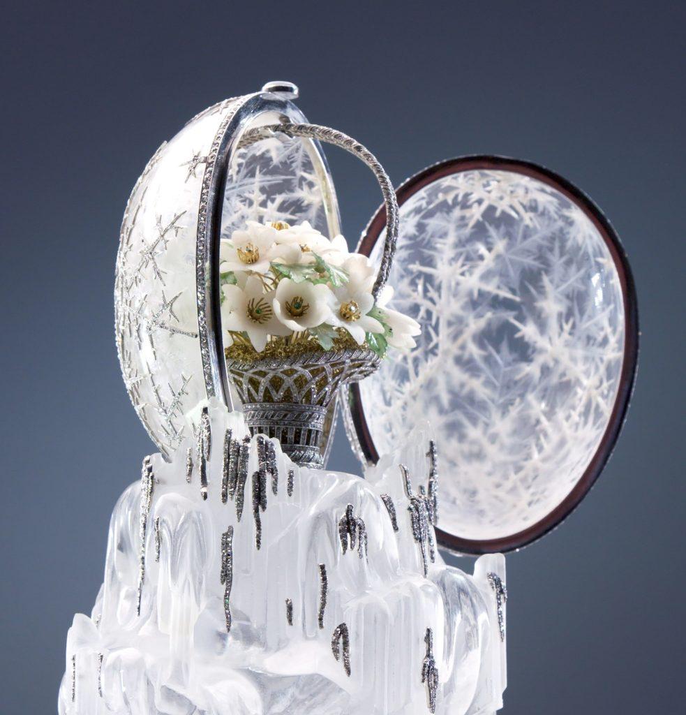 """Fabergé's-""""Winter-Egg""""-of-1913-983x1024"""