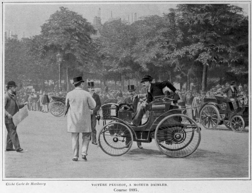Voiture_Peugeot_à_moteur_Daimler,_au_départ_de_Paris-Bordeaux-Paris_1895