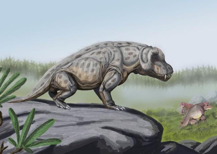 Anteosaurus_in_landscape