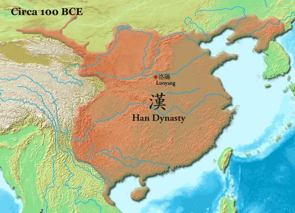китай-по-времето-на-династията-хан-около-100г.пр.хр