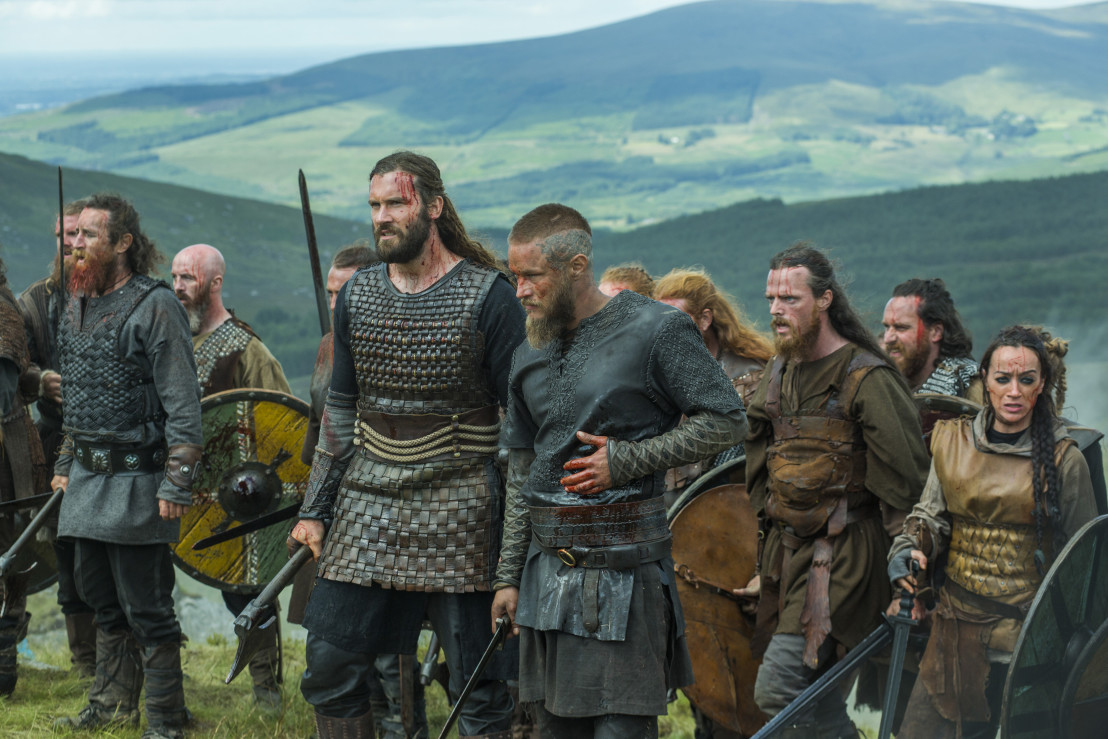 vikings, викингите, сериал